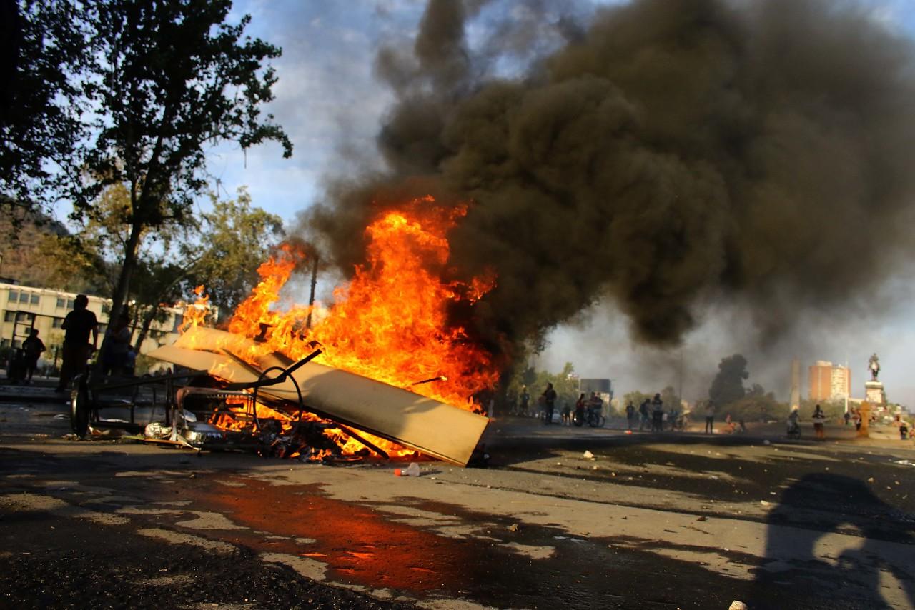 Violencia deja Chile como uno de los países más riesgosos del mundo