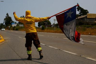 Brigadistas de Conaf de Biobío suman seis días de huelga