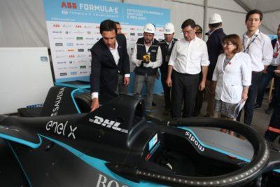 Fórmula E: autoridades supervisan el Parque O'Higgins a horas del inicio de la carrera
