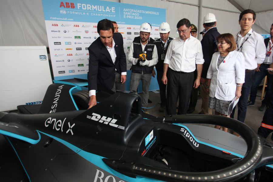 """""""Fórmula E: autoridades supervisan el Parque O"""