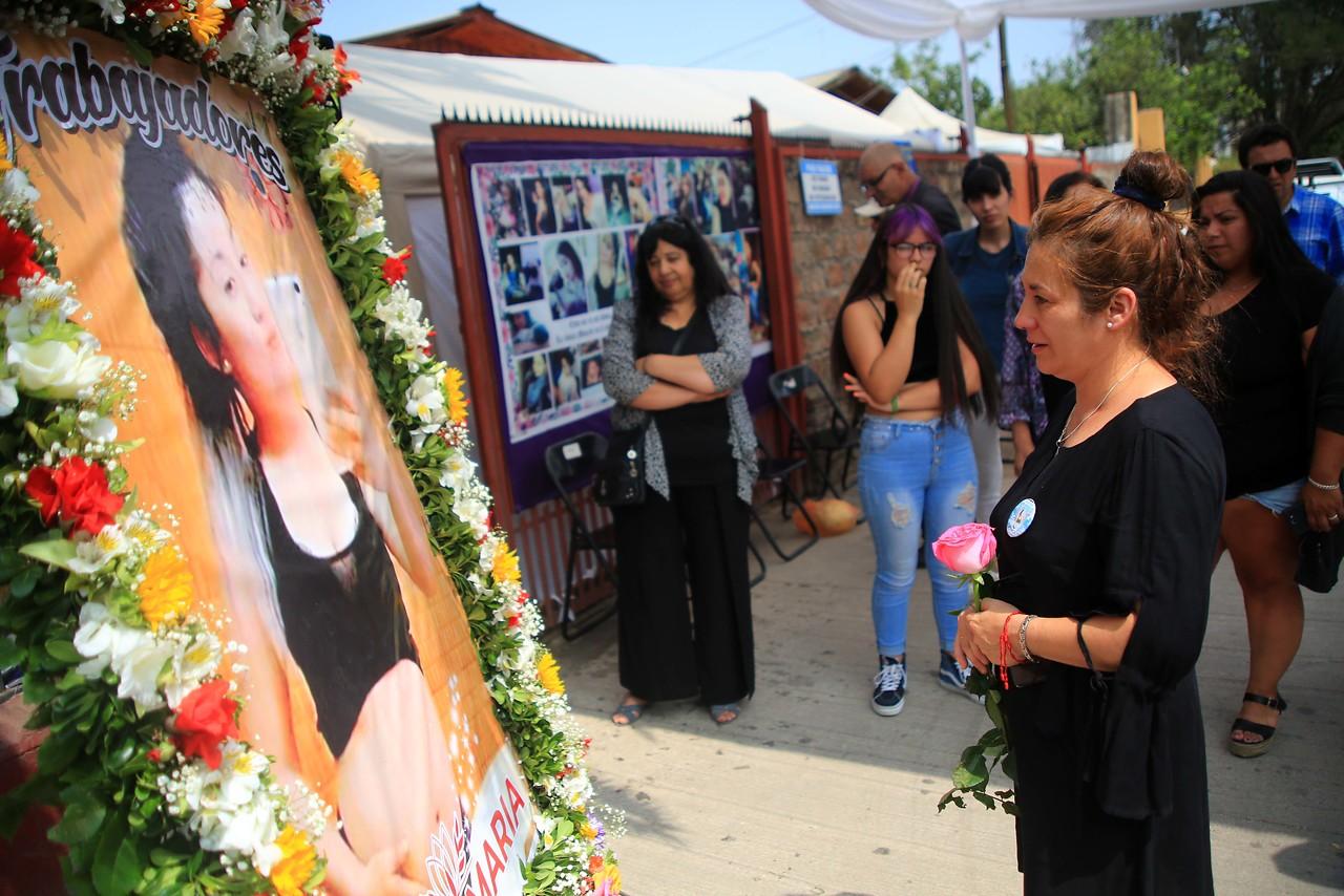 El emotivo funeral de Fernanda Maciel