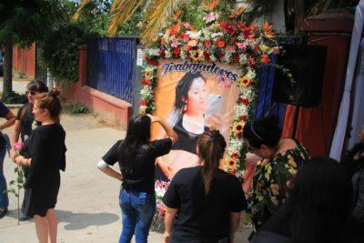 El último adiós a Fernanda Maciel