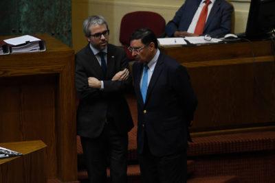 """Ministro Blumel y acusación a Guevara: """"Aquí se ha cometido una injusticia"""""""