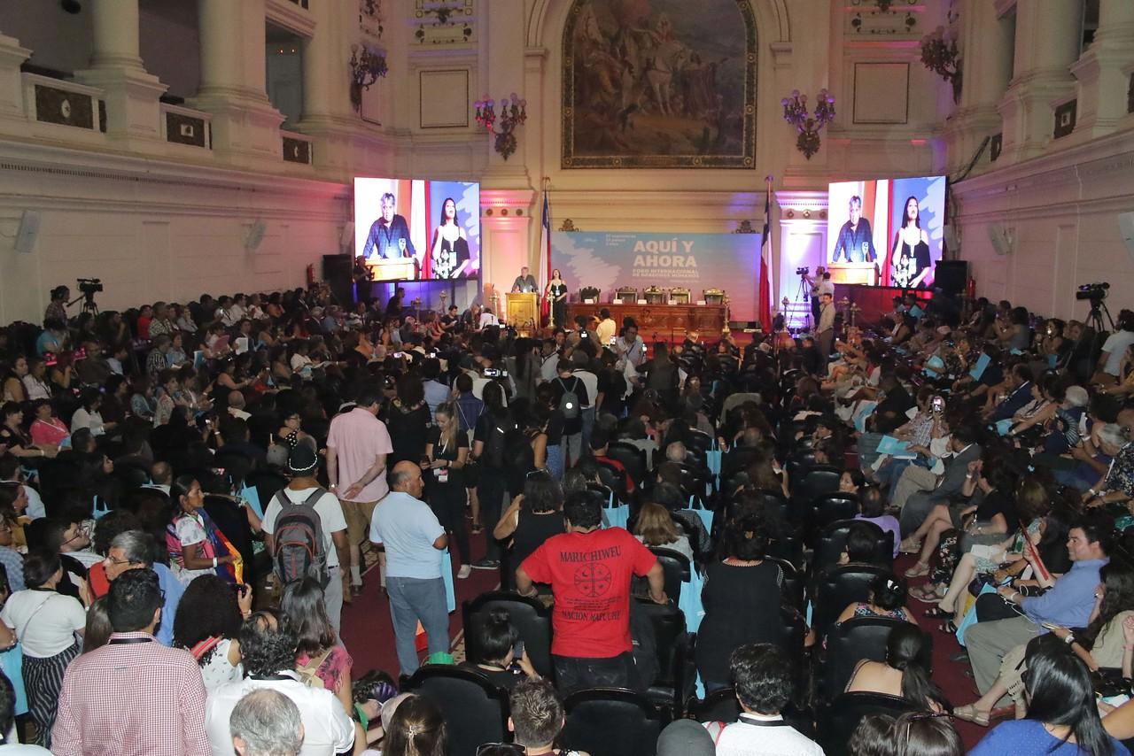 Las intervenciones que marcaron el Foro Internacional de DD.HH. en Chile
