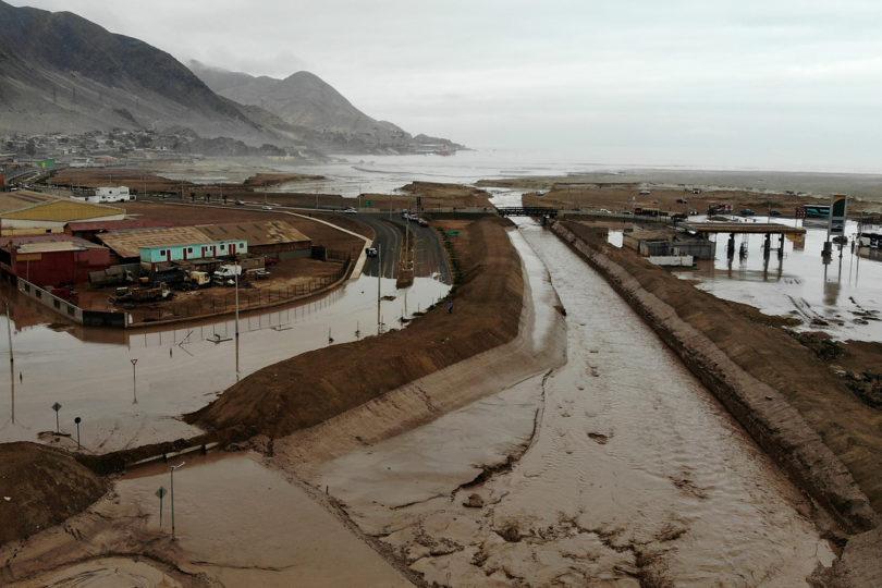 Presidente Piñera viaja a zonas de Atacama afectadas por la lluvias