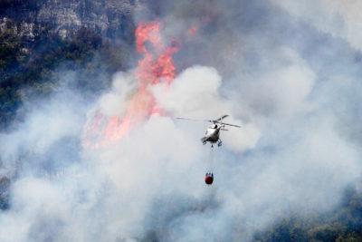 Onemi actualiza en 25 la cantidad de incendios forestales en el país