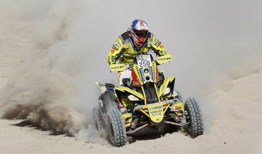 Ignacio Casale queda segundo en la etapa 11 y se acerca a su tercer título en el Dakar