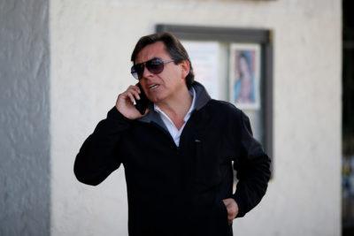Claudio Fariña fue formalizado por el delito de amenazas en contra de Carla Zunino