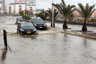 Lluvias dejan más de 3 mil familias afectadas en la Región de Tarapacá