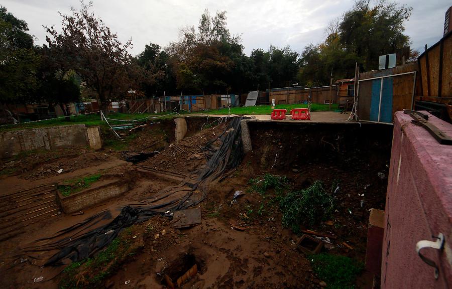 """""""Los Tajamares de Santiago: memoria y entierro"""""""