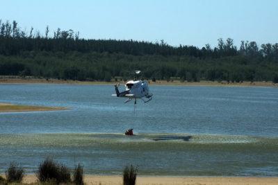 Conaf advierte que reserva Lago Peñuelas se secará en marzo
