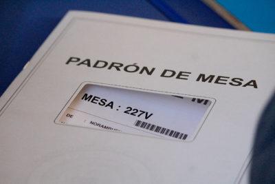 Tres comunas de Santiago concentran más del 7% del padrón electoral