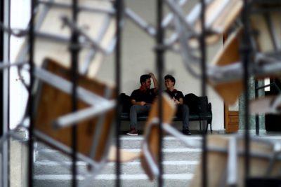 Dos liceos de Copiapó donde se realizará la PSU amanecieron en toma