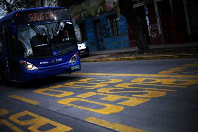 Ministerio de Transportes anunció 7 nuevas vías exclusivas para buses del Transantiago