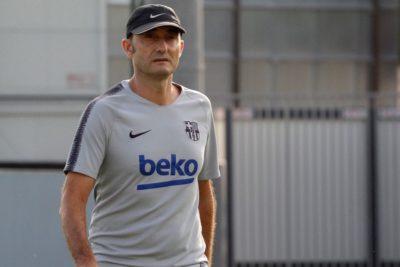 FC Barcelona habría puesto fin al ciclo de Ernesto Valverde