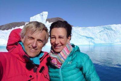Ana Botín grabó programa en Groenlandia y anunció las medidas de Santander para transitar hacia a una economía verde