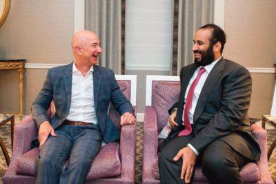 Príncipe heredero de Arabia Saudita hackeó teléfono del multimillonario Jeff Bezos