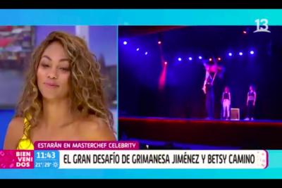 VIDEO |El divertido momento que protagonizó Grimanesa Jiménez y Betsy Camino en el Bienvenidos