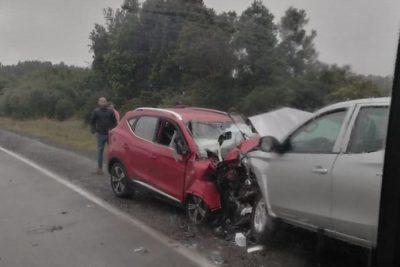 Accidente de tránsito dejó cuatro fallecidos en la Región de Los Lagos