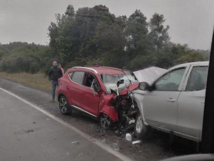"""""""Accidente de tránsito dejó cuatro fallecidos en la Región de Los Lagos"""""""