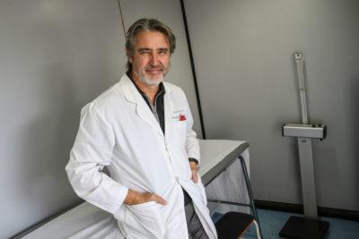 """Fulvio Rossi y su regreso a la medicina: """"Siempre me piden selfies en el hospital"""""""