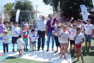 Lanzan la temporada de Plazas del Agua en la Región Metropolitana