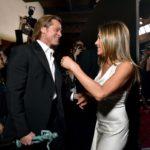 FOTOS | La imagen que se tomó los SAG Awards: el reencuentro de Jennifer Aniston y Brad Pitt