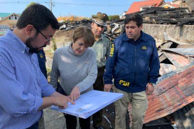 Ministra de las Culturas visita Ancud para constatar daños en Iglesia San Francisco y anuncia plan para su recuperación