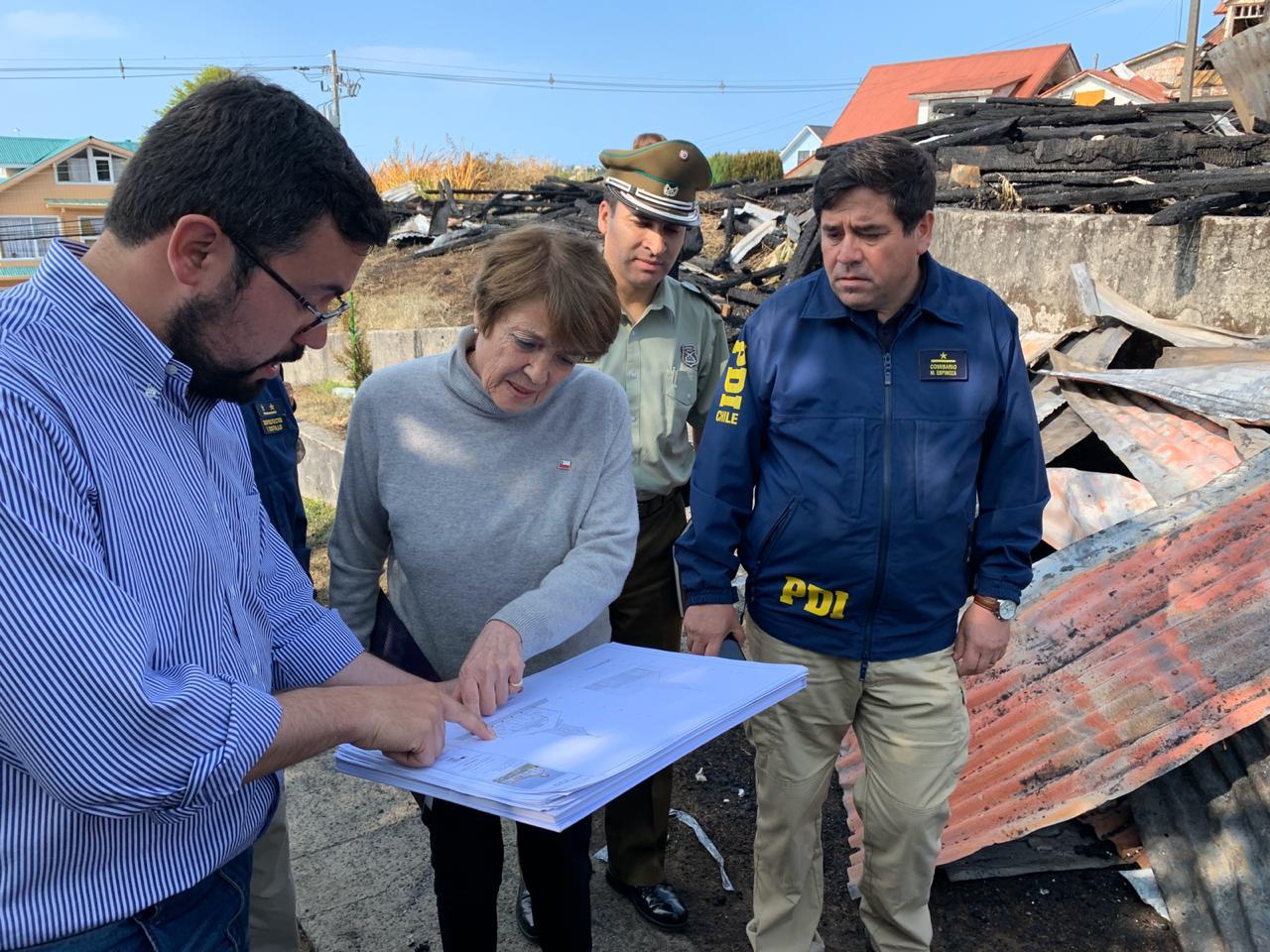 """""""Ministra de las Culturas visita Ancud para constatar daños en Iglesia San Francisco y anuncia plan para su recuperación"""""""