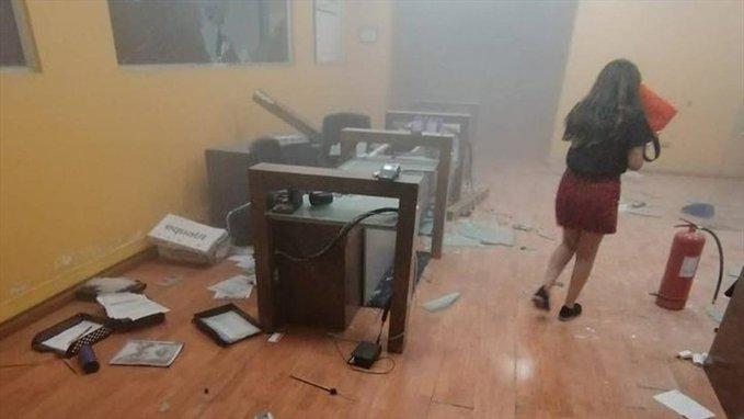 """""""Desconocidos atacan dependencias de El Mercurio de Antofagasta"""""""