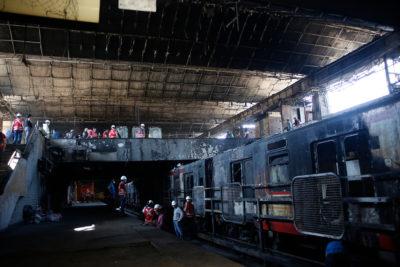 """Gobierno y detenidos por incendio en metro San Pablo: """"No va a haber impunidad"""""""