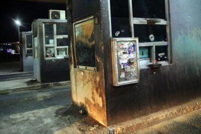 Brigadista de Conaf fue detenido por incendios en casetas de peaje