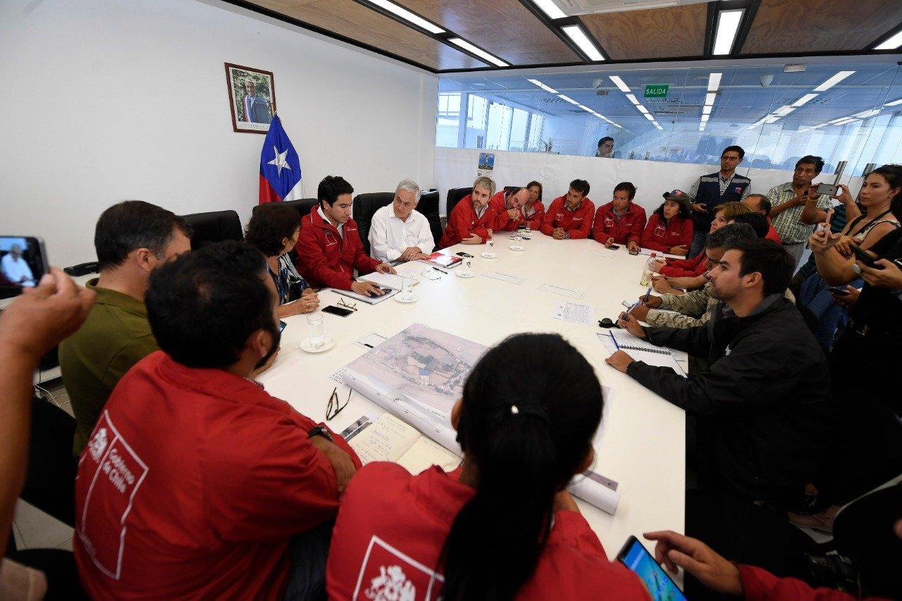 """""""Piñera en su visita a Atacama:"""