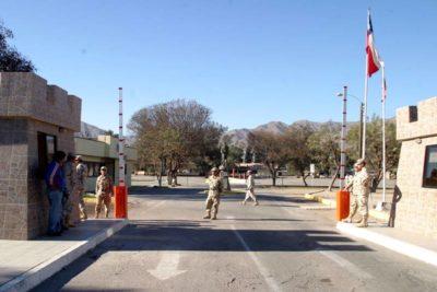 Ejército confirma que desconocidos atacaron regimiento en Copiapó