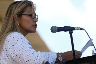 Jeanine Áñez anunció su candidatura presidencial en Bolivia
