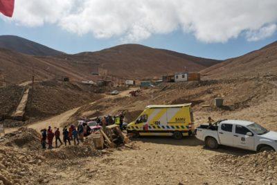 Accidente en mina Santa Mónica de Tocopilla dejó un muerto y cuatro heridos