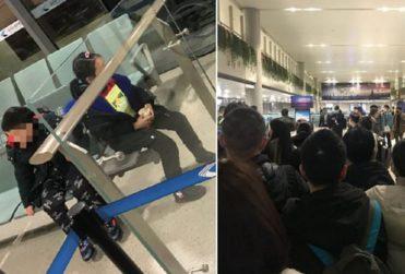 Padres abandonaron en aeropuerto a sus hijos con síntomas de coronavirus