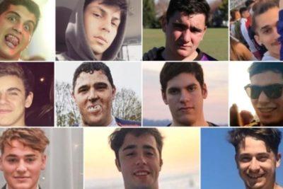 """Detenidos por crimen de joven argentinoirán a cárcel que tiene equipo de rugby y abogado de la víctima los trata de """"cagones"""""""