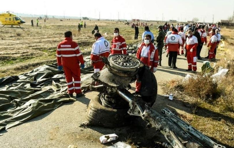 """""""Irán niega su responsabilidad en accidente de avión que dejó 170 personas muertas"""""""