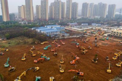 China contra el tiempo: construyenhospital en Wuhan para combatir el coronavirus