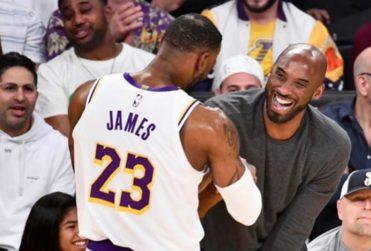 """""""Significas mucho para nosotros"""": el sentido mensaje que Lebron James le dedicó a Kobe Bryant"""