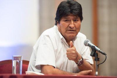 Evo Morales presenta equipo jurídico para enfrentar acusaciones del Gobiernoboliviano