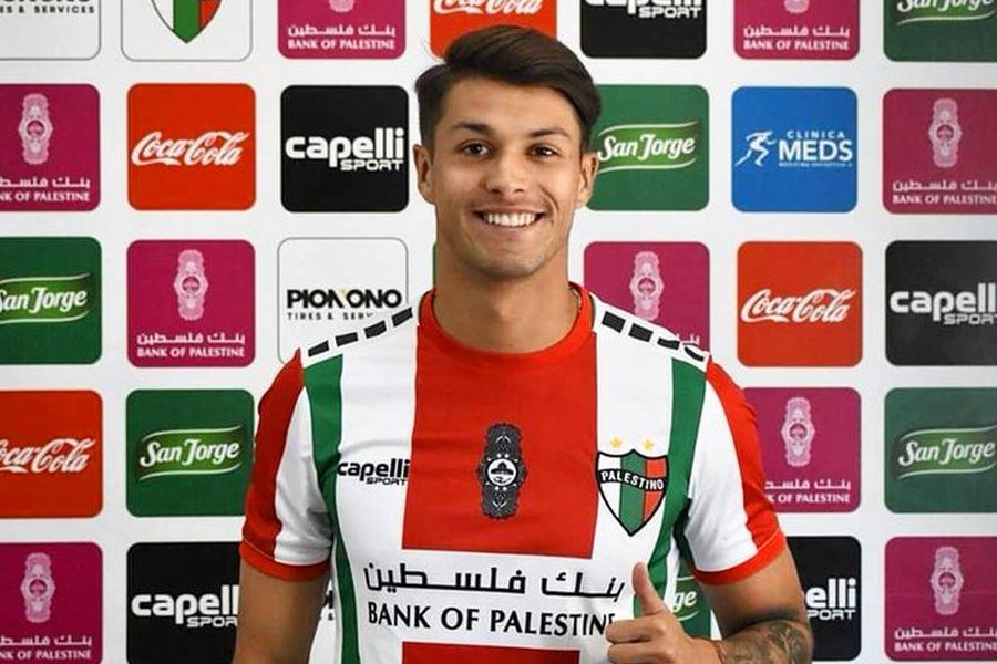Palestino oficializa la contratación de Nicolás Solabarrieta