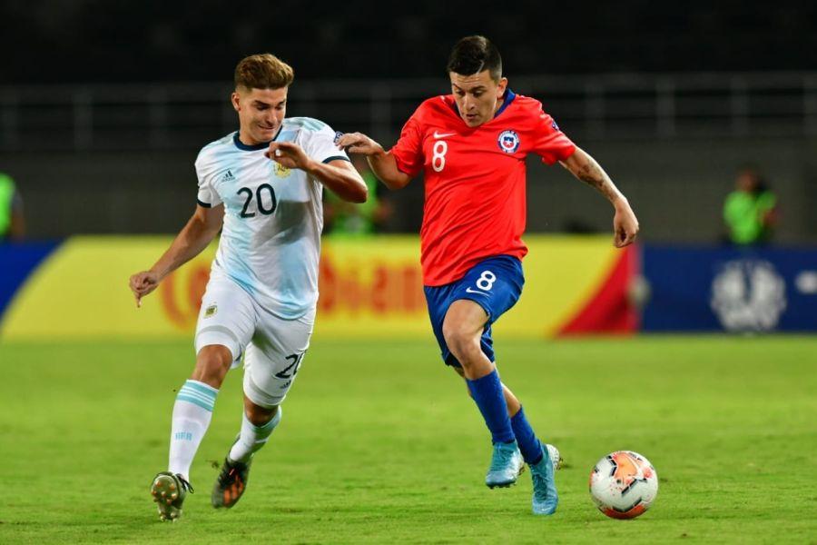 Preolímpico Sub 23: victoria de Colombia complica a Chile en el Grupo A