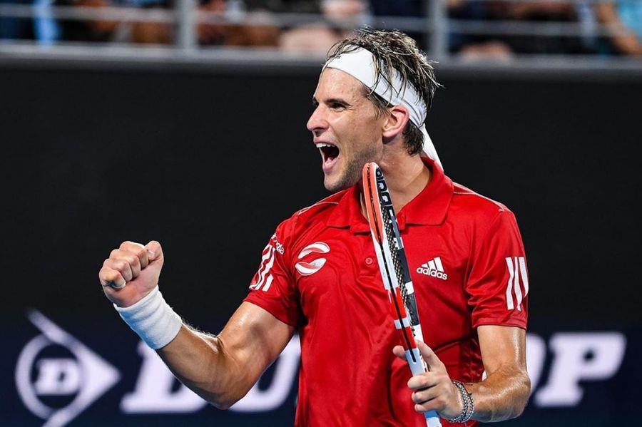 Dominic Thiem da el golpe en Australia al vencer a Rafael Nadal