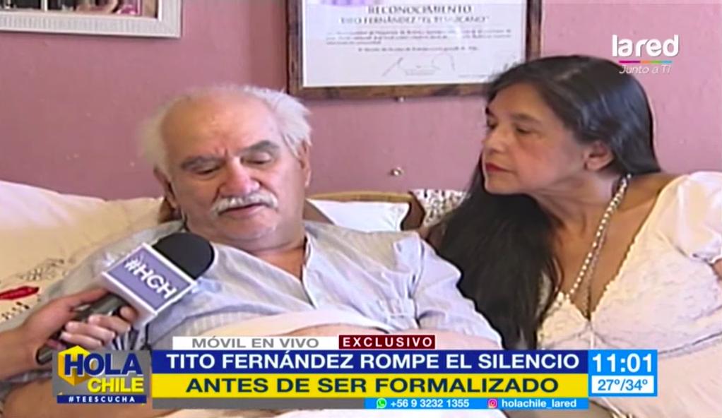 """VIDEO  Tito Fernández reaparece ante formalización:"