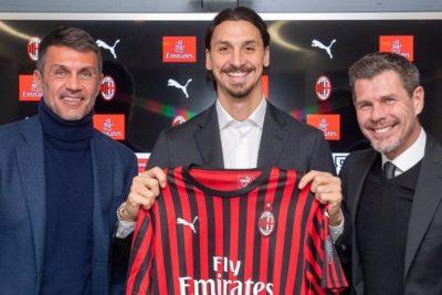 """Zlatan Ibrahimovic regresó a AC Milan: """"Estoy feliz porque esta es mi casa"""""""