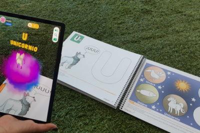 Realidad aumentada aterriza en cuadernos de actividades para preescolares