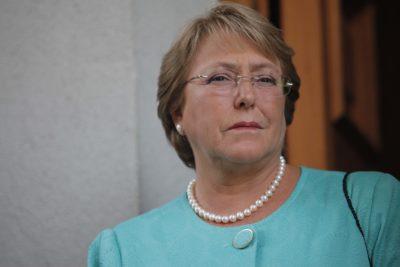 """Michelle Bachelet pidió que se establezcan """"responsabilidades"""" por violaciones a los DD.HH."""