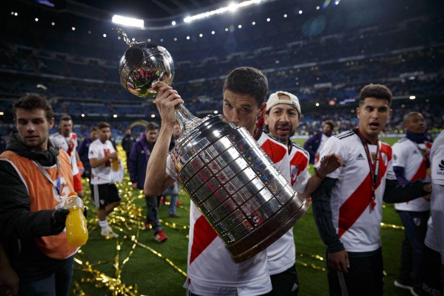 TAS mantuvo a River Plate como campeón de la Copa Libertadores 2018